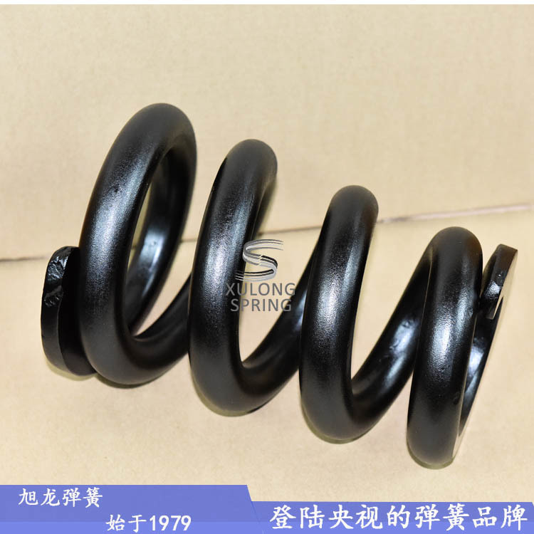 广东旭龙弹簧厂生产的热卷大弹簧用作矿山机械弹簧
