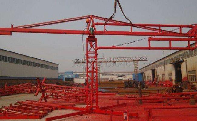 15米电动混凝土布料机的图片 (2)