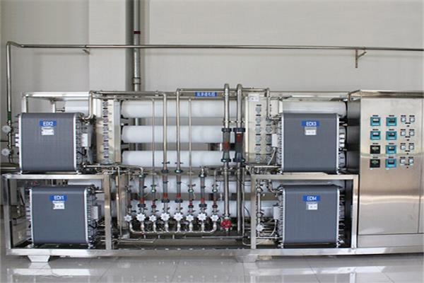 重庆康维斯电机制造厂超纯水设备项目