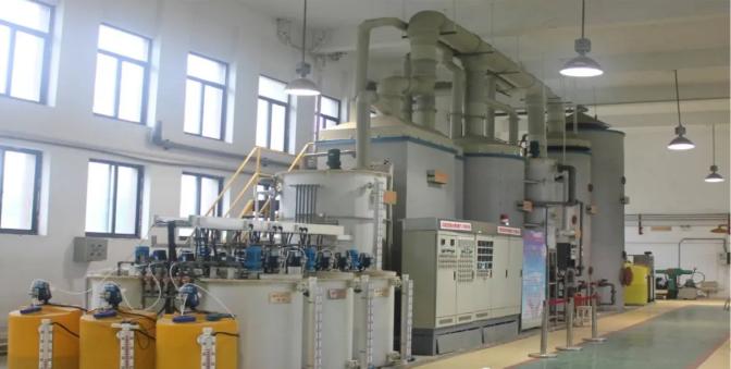 大学实验室废液废水处理实验实训装置