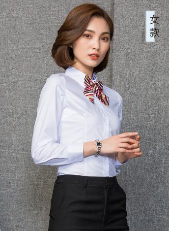 商务制服女士衬衣定制