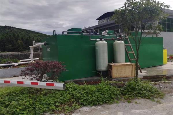部队营区生活污水处理