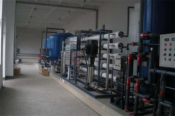 锂电池生产用超纯水设备