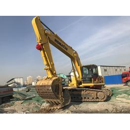 挖掘机出租设备的抓斗的工作过程