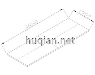 实验台尺寸设计依据台面3660*1220规格