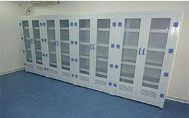 亚投国际生产的耐腐蚀药品柜