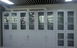 亚投国际生产的带排风试剂柜