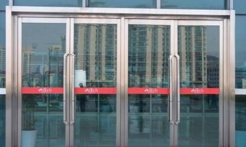 地弹门案例,玻璃推拉门案例