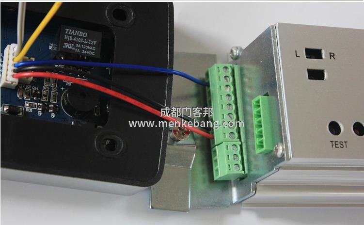 自动门控制器接线图解,自动门控制装置接线图