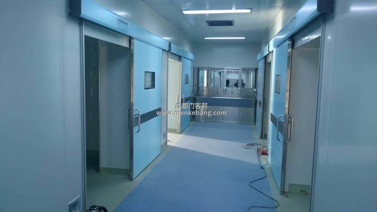 手术室自动门安装,手术室自动门安装说明书
