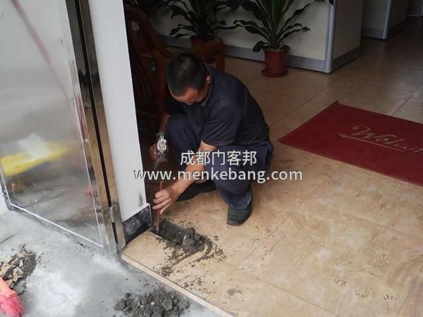 地弹簧的开槽安装方法