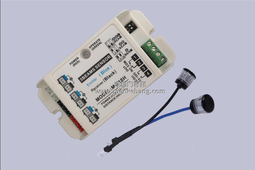自动门安全光线原理,自动门安全光线接线图