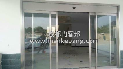 门客邦成都感应玻璃门、自动感应门维修方法