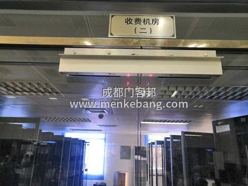 玻璃门装门禁,双开门玻璃加装门禁,无框玻璃门门禁安装