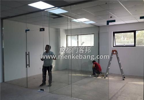 成都商铺玻璃门,办公室玻璃门安装公司,成都哪里有卖玻璃门