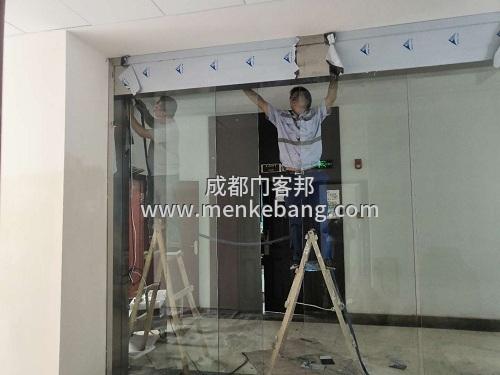 龙泉自动门定做,龙泉感应玻璃自动门,龙泉玻璃门自动门安装定制厂家案例