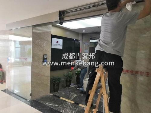 成都玻璃自动门维修,自动门维修价格,成都自动门厂家维修案例