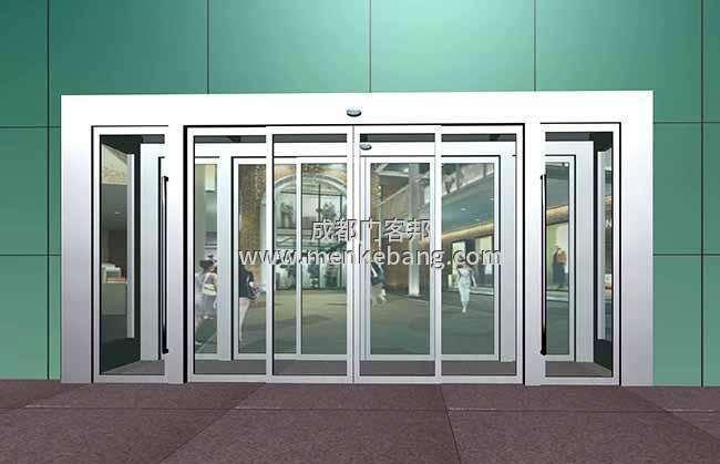 成都平移重叠门,重叠自动感应门定制安装价格