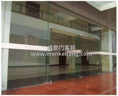 成都玻璃门带地弹簧门价格,安装玻璃门地弹簧价格,成都市高新区玻璃门地弹簧更换