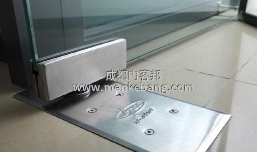 玻璃门地弹簧坏了有什么影响,成都更换玻璃门地弹簧上门维修