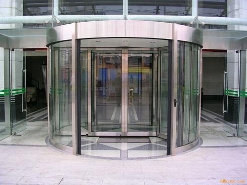 成都自动旋转门工程,成都自动旋转门工程案例