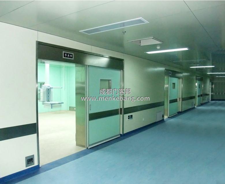 四川成都医用自动门,手术室感应门,医疗气密门,自动气密门