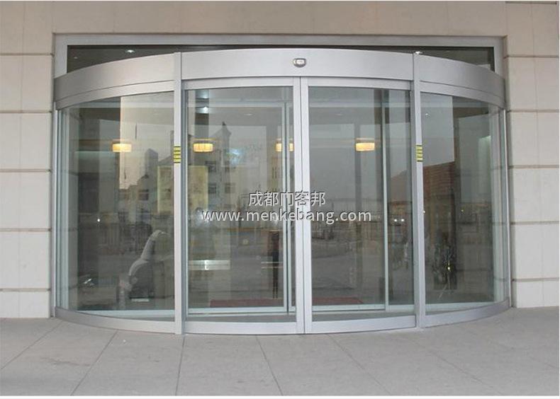 成都弧形感应自动门价格,弧形玻璃自动门价格,弧形玻璃感应自动门价格