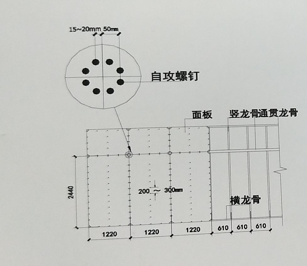 硅酸钙板隔墙系统施工方法