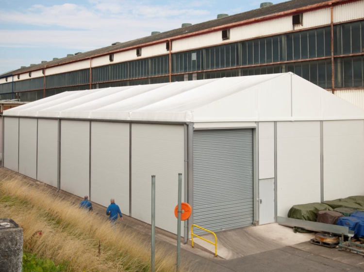 Insulated Warehouse for Rail Industry