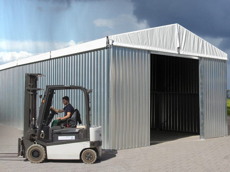 Warehouse tent 6m wide