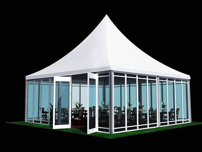 Four-corner canopy tent custom