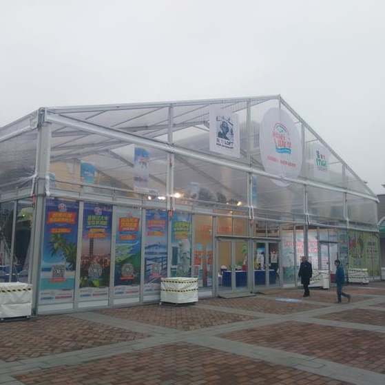 warehouse tent for supermarket