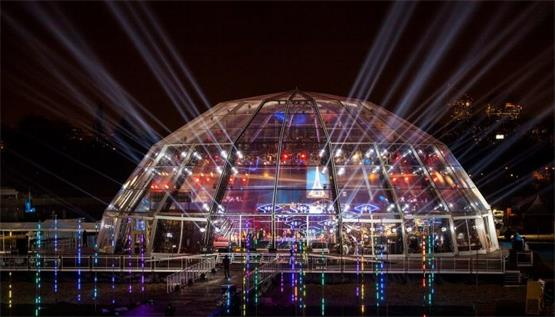 Conventional glass dome tent for sale