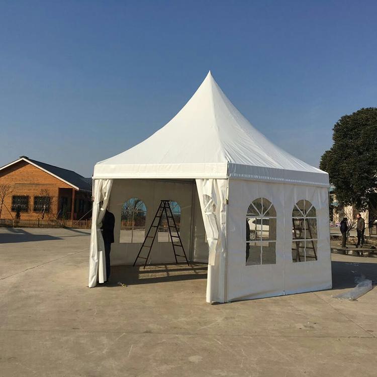 European style pagoda tent