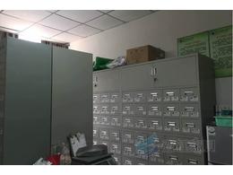 铁皮喷塑中药柜案例