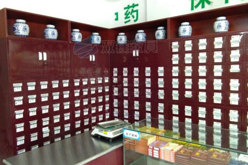不锈钢中药柜图片 (4)