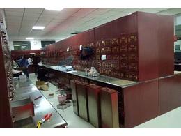 大型中医院304不锈钢中药柜案例
