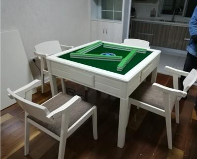 重庆中式餐厅放麻将两用桌
