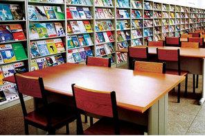 阅览室书架案例