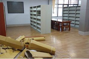 图书馆木护板及期刊架案例