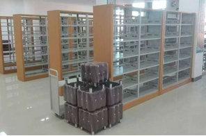 木护板图书馆书架