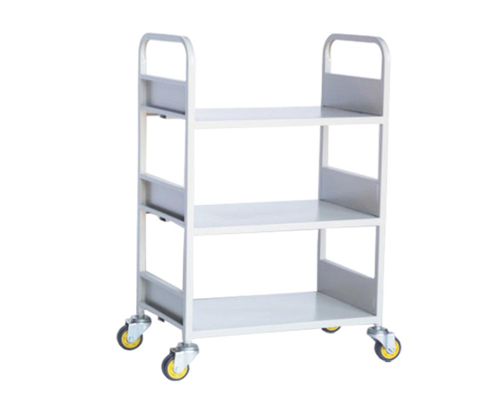 小三层平板书车
