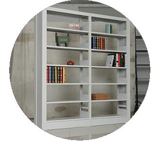 图书馆书架厂致力于为图书馆书架行业提供优质铁书架!