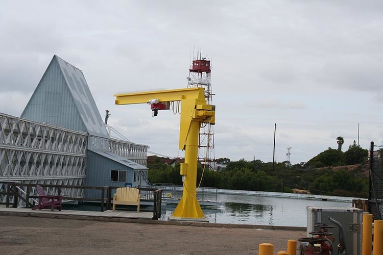 fixed mounted jib crane