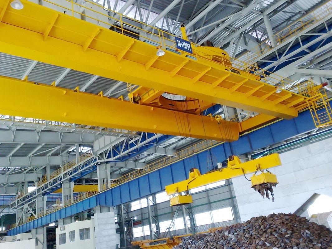 Steel Lifting Magnetic Bridge Crane