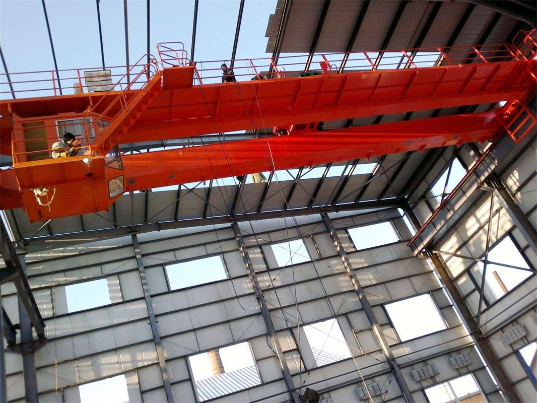 Electric Double Girder Overhead EOT Crane