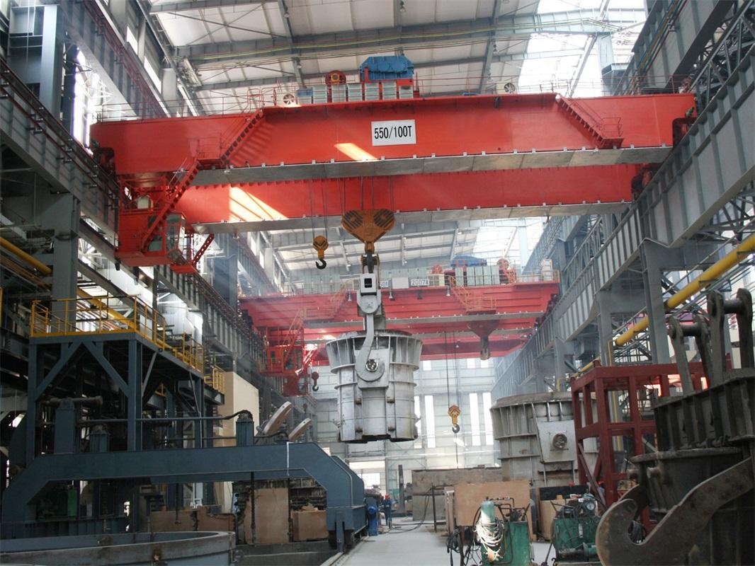 Double Beam Lifting Bridge Crane
