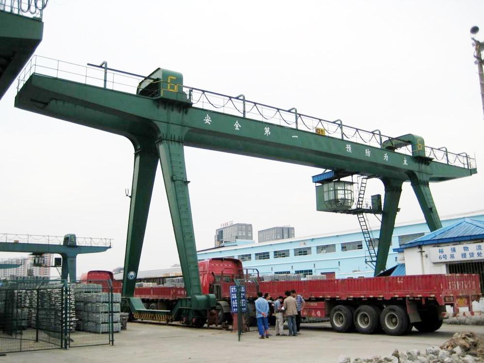 Heavy Load Double Girder Gantry Crane