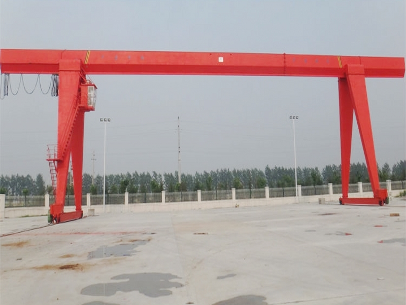Industrial Workshop Single Girder Gantry Crane