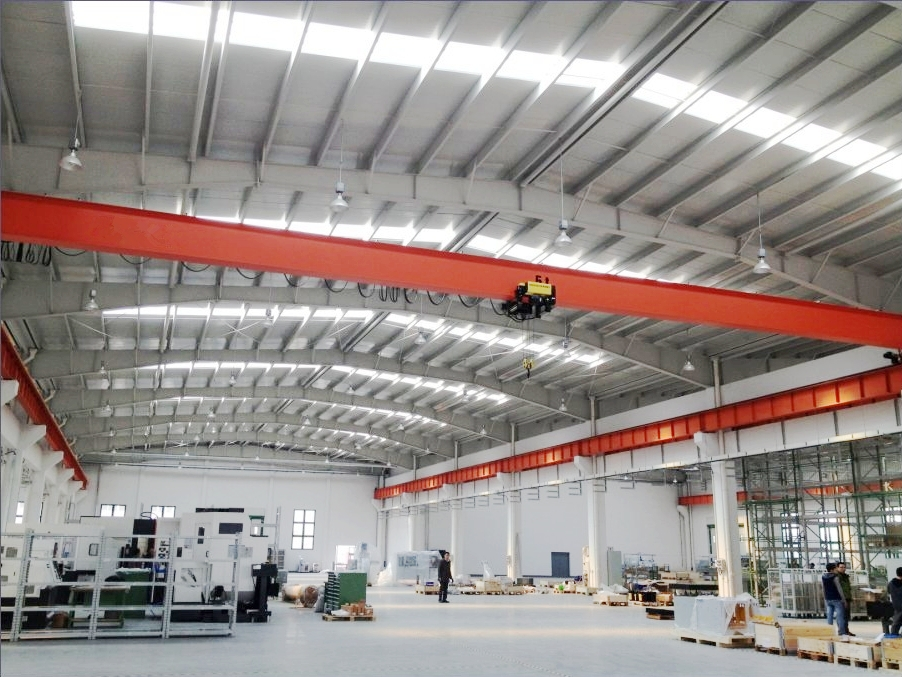 Single Girder Low Headroom Overhead Crane